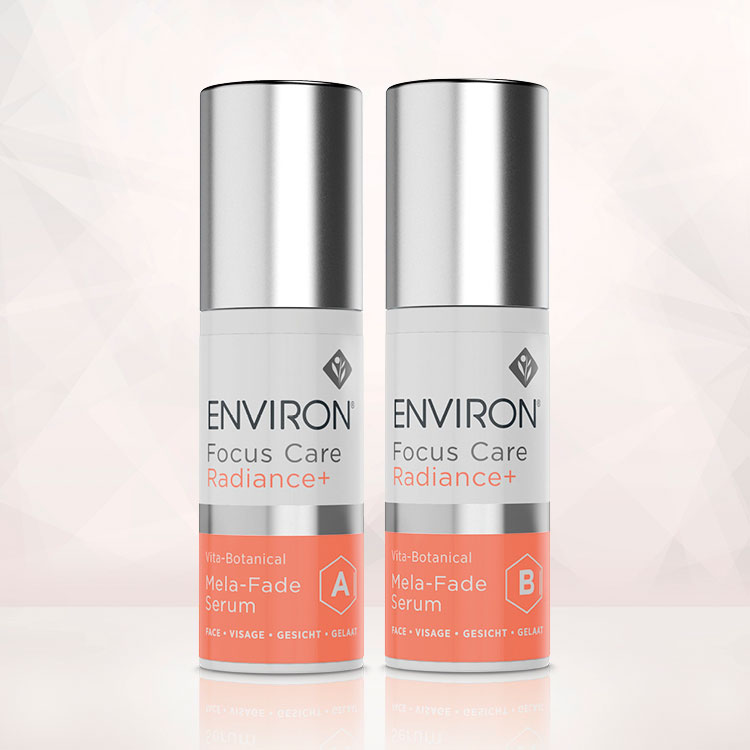 Environ Focus Care Radiance+ Mela-Fade Serum A og B